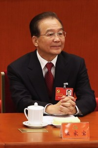 Chinese Prime Minister Wen Jiabao. [Getty Images]
