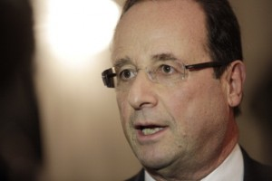 French President Francois Hollande. Photograph: Daniel Sannum-Lauten-Pool/Getty Images