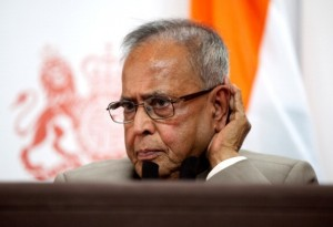The Indian President, Pranab Mukherjee. [Getty Images]
