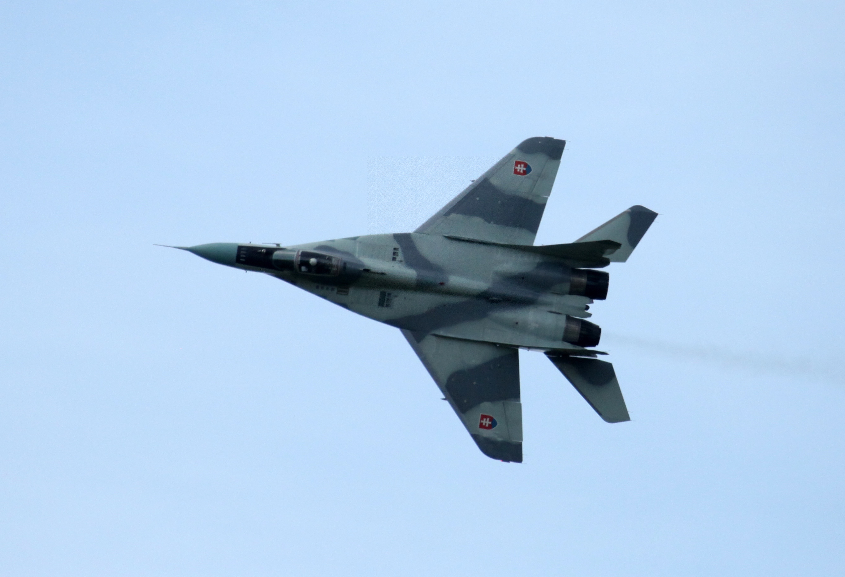 Syrian MiG-29 began to provide direct cover for Su-25 ground attack aircraft of the Russian space forces 51
