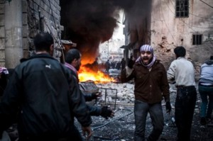 Civil war in Syria continues. [AP]