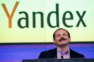 Arkady Volozh, CEO of Yandex. [AP]