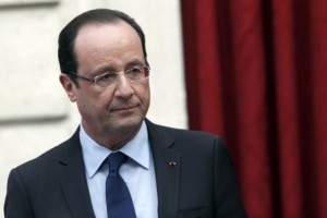 French President Francois Hollande. [Getty images]