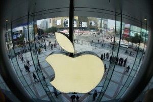 Apple Store in Wangfujing shopping district, Beijing, China. [Getty Images]
