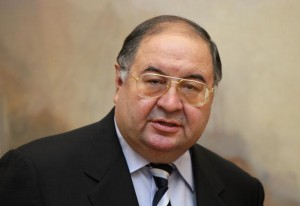 Alisher Usmanov, the world's richest Russian. [Getty Images]