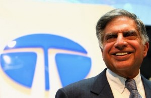 Chairman of India's Tata Motors, Ratan Tata. [Getty Images]