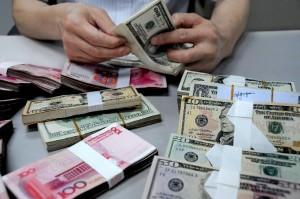 USdollarand yuan