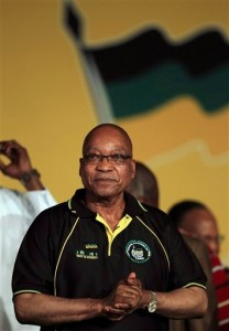 South African President Jacob Zuma. [AP]
