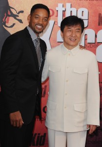 Chan with Will Smith (Getty Images)