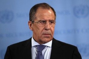 Lavrov says Snowden is still in transit  [Getty Images]