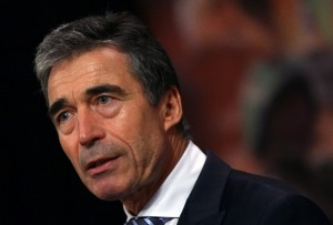 Anders Fogh Rasmussen, NATO Secretary General. [Getty Images]