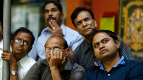 Foreign investors bought 107.5 million rupees worth of Indian shares on Thursday [AP]