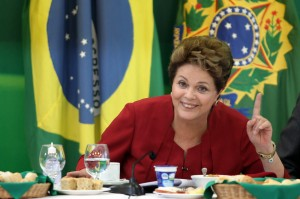 Dilma Rousseff has taken several measures, including tax cuts, to push the economy forward [Xinhua]