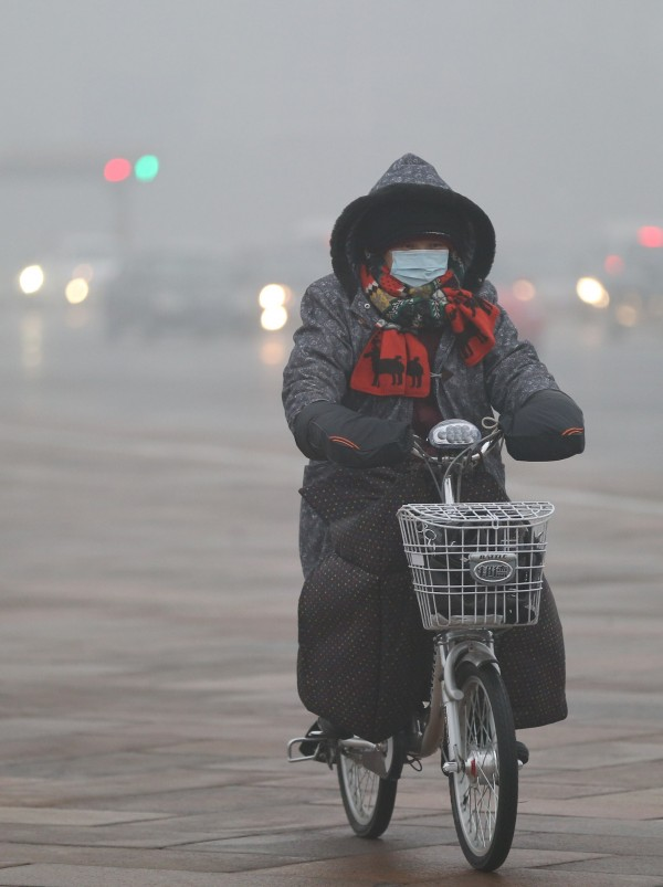 The air quality in Chinese cities is often poor with readings for PM 2.5 pollution sometimes 26 times as high as the 25 micrograms considered safe by the World Health Organization [Xinhua]