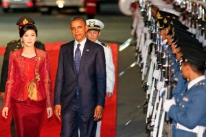 US President Barack Obama on a recent visit to Thailand [Getty Images]