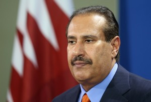 Qatar's Prime Minister insists his country seeks pan-Arab consensus on Syria [Getty Images]