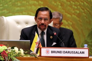 The Sultan of Brunei Haji Hassanal Bolkiah at the 22nd ASEAN Summit in Bandar Seri Begawan, Brunei [Xinhua]