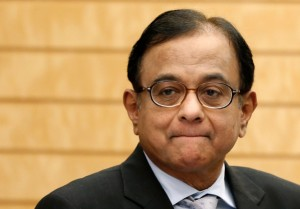 India's Finance Minister Palaniappan Chidambaram is predicting up to 5.5 per cent growth in 2014 [AP]