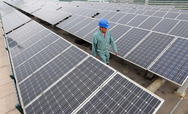 China's Trina Solar could be facing total import duties of 30 per cent and Suntech Power nearly 50 per cent [Xinhua]