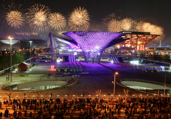 The opening ceremony of the 2010 World Expo in Shanghai, China [Getty ...
