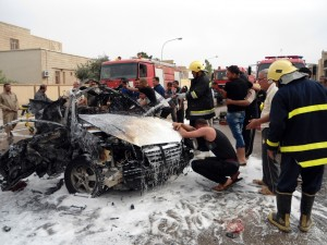 Iraqi cities are increasingly under threat from car and suicide bomb attacks [Xinhua]