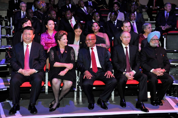 File photo of BRICS leaders at the Durban Summit in South Africa [GCIS]