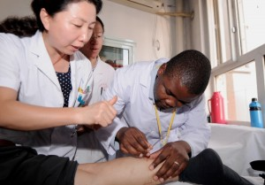 This year marks the 50th anniversary of Chinese medical teams being sent to Africa [Xinhua]