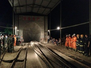 108 miners were trapped in at the time of the accident (Xinhua Images)