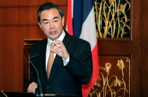 Chinese foreign minister Wang Yi urged an early convening of the US-Russia backed Geneva 2 talks on Syria [Xinhua]