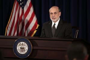 Federal Reserve Board Chairman Ben Bernanke failed to calm global markets [Getty Images]