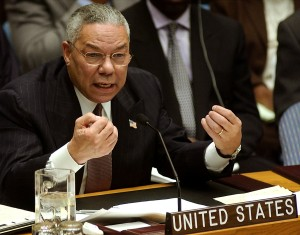 Powell's allegations of Iraqi WMD turned out to be unfounded [Getty Images]