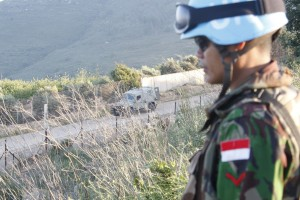 The UN Interim Force in Lebanon monitors the border with Syria [Xinhua]