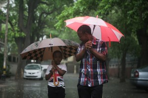 Meteorologists expect two more days of rain for New Delhi [Xinhua]