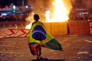 Anger over corruption and substandard services directed at the entire political class led to violent demonstrations in recent months in Brazilian cities [Xinhua]