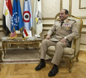 Al-Sisi says the army cannot allow for violence to continue [Getty Images]