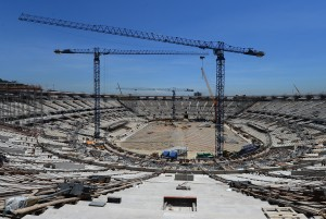 Many Brazilians feel the price tag for World Cup preparations is much too high [Getty Images]