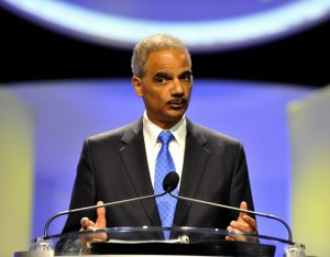 Holder has previously assured Russian officials in a letter that Snowden would not face the death penalty [AP]