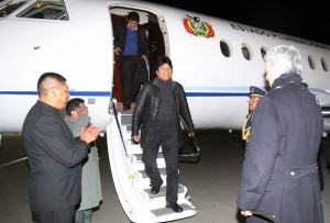 Morales's asylum pledge came two days after his flight was diverted on suspicions Snowden was on board [XInhua]
