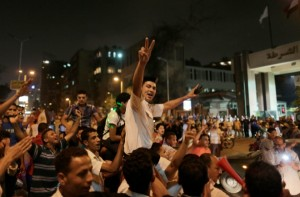 The Egyptian armed forces on Wednesday deposed Morsi and suspended the country's constitution. (Xinhua Images)