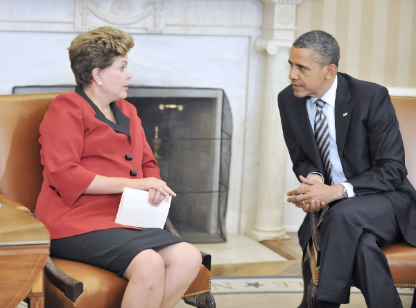 Rousseff's last visit to the White House in 2012 before relations soured over espionage revelations [Xinhua]
