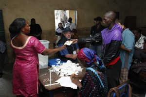 A record 77 per cent of registered voters in Mali headed to the first round of the polls on July 28 [Xinhua]