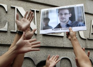 Snowden's comments came in the backdrop of Brazil and Germany drafting a UN resolution calling for an end to excessive electronic surveillance  [AP]