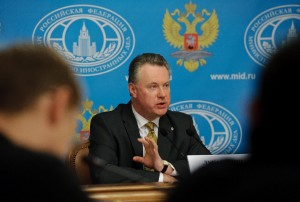 Russian Foreign Ministry Spokesman Alexander Lukashevich said earlier the attack is designed by rebels to derail the work of a UN team investigating chemical weapons use in Syria [Xinhua]