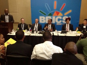 The two-day maiden BRICS Business Council meet is being hosted by South Africa [Courtesy: DTI]