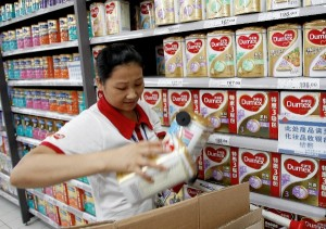 Westland Milk Products said all the affected products had been traced and quarantined [Xinhua Images]