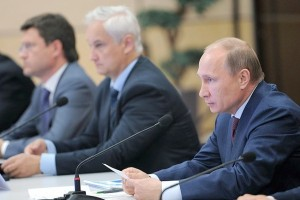 Putin said [Presidential Press and Information Office]