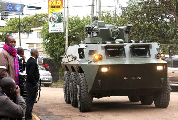The Kenyan armed forces and police have been locked in a bitter war with Al-Shabaab terrorists in the country for the past several years [Xinhua]