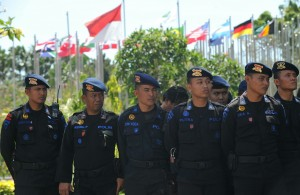 Security is being beefed up in preparation for the APEC Summit in Bali, Indonesia October 2-8 [Xinhua]