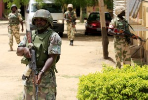 The Nigerian army has stepped up its campaign against the Boko Haram militia [AP]