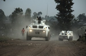 UN and government forces have pushed the rebels back from Goma [AP]